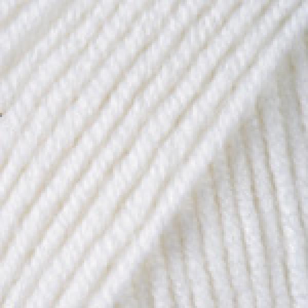 Yarn Merino deluxe 50 YarnArt (РАМ) #    501 [белый]