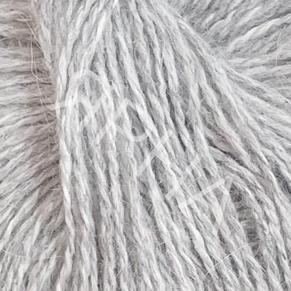 Ангора премиум 4/125 серый меланж Ярна И...