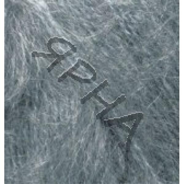 Yarn Mohair classic Alize (Ализе) #    412 [серый меланж]