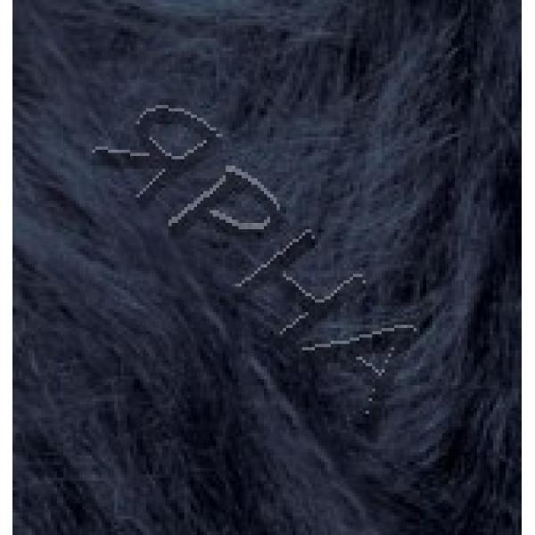 Yarn Mohair classic Alize (Ализе) #    395 [тем.синий]