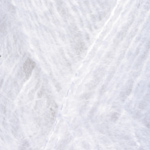 Yarn Mohair classic RAM YarnArt (РАМ) #    101 [белый]