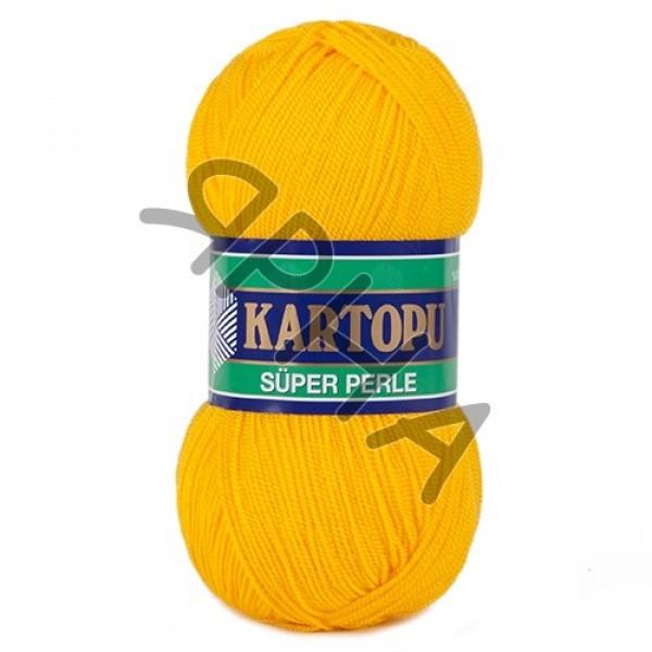 Yarn Perle Kartopu Картопу #    320 [желток]
