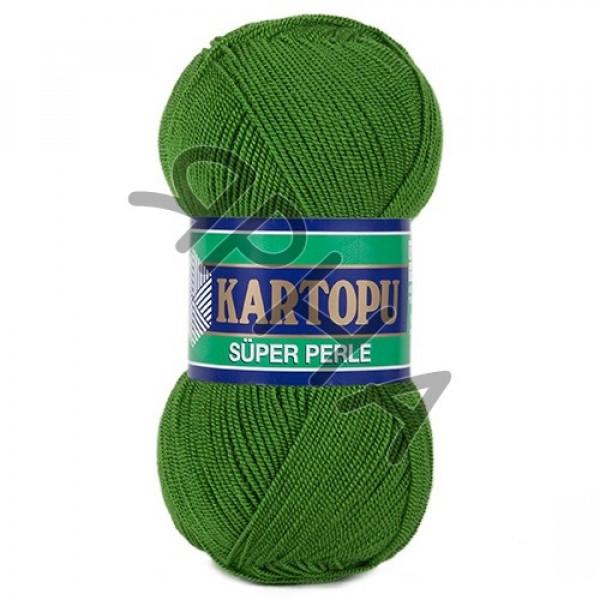 Yarn Perle Kartopu Картопу #    392 [зелень]