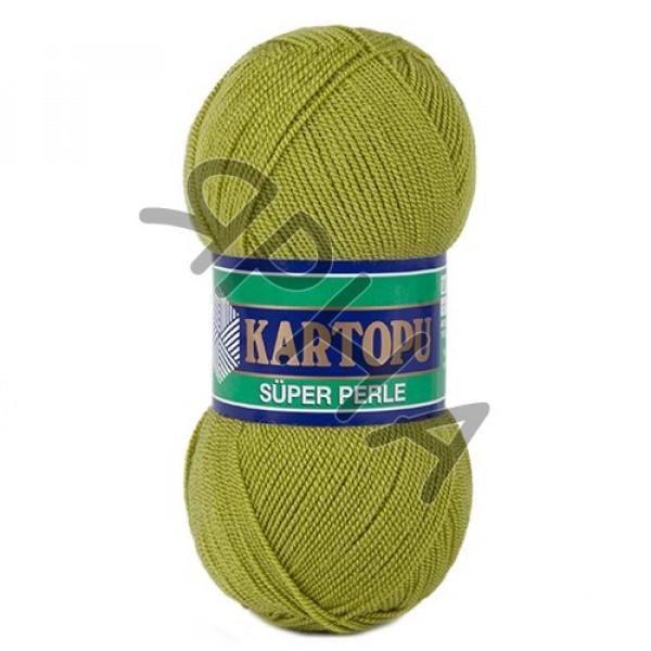 Yarn Perle Kartopu Картопу #    442 [серо-св.зелен]