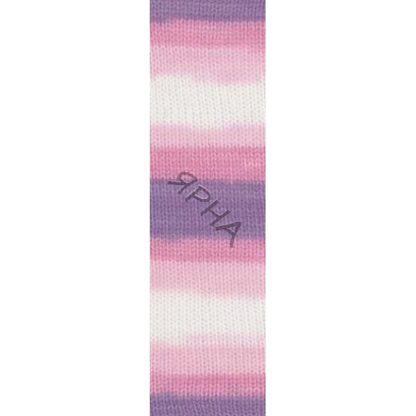 Yarn Sekerim batik Alize (Ализе) #   2135 [батик]