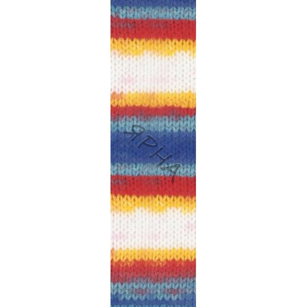 Yarn Sekerim batik Alize (Ализе) #   2681 [батик]