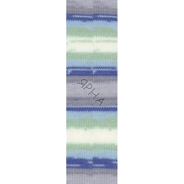 Yarn Sekerim batik Alize (Ализе) #   6548 []