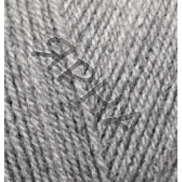 Пряжа Суперлана Тиг (TIG) Alize (Ализе) #     21 [св.серый]