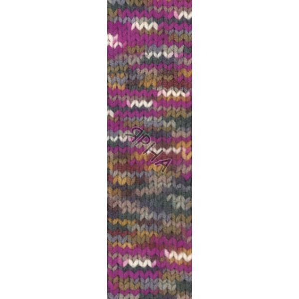 Yarn Superlana maxi multicolor Alize (Ализе) #  52144 []