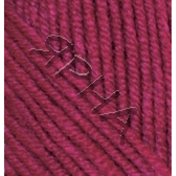 Yarn Superlana midi Alize (Ализе) #    390 [вишня]