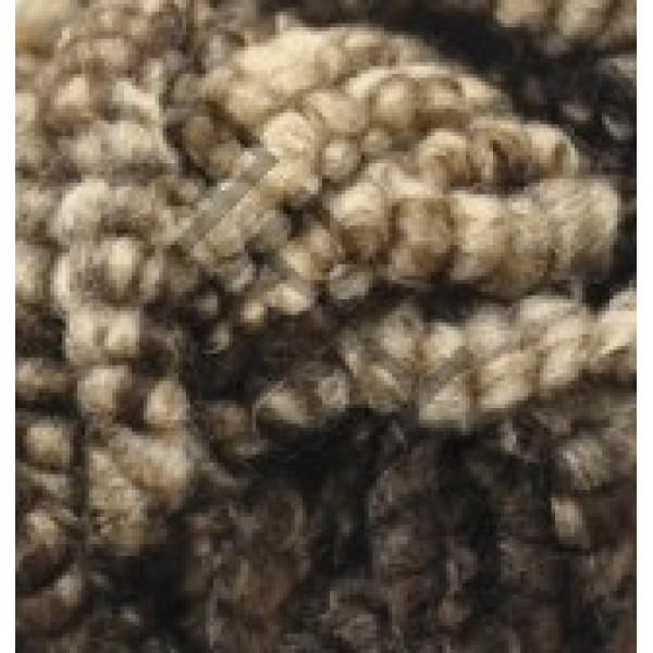 Yarn Fashion boucle Alize (Ализе) #   5574 [беж+шоко меланж]