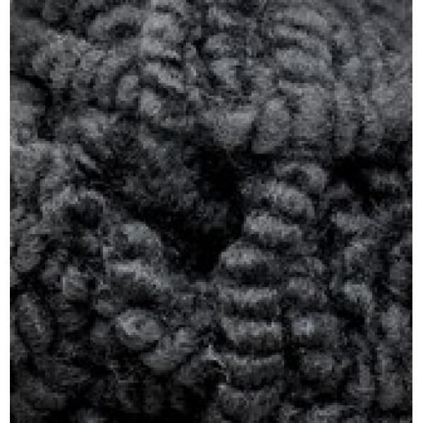 Пряжа в мотках Фэшн букле Alize (Ализе) #     60 [черный]