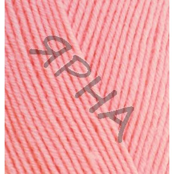 Пряжа в мотках Хеппи беби Alize (Ализе) #    371 [корал-розовый]