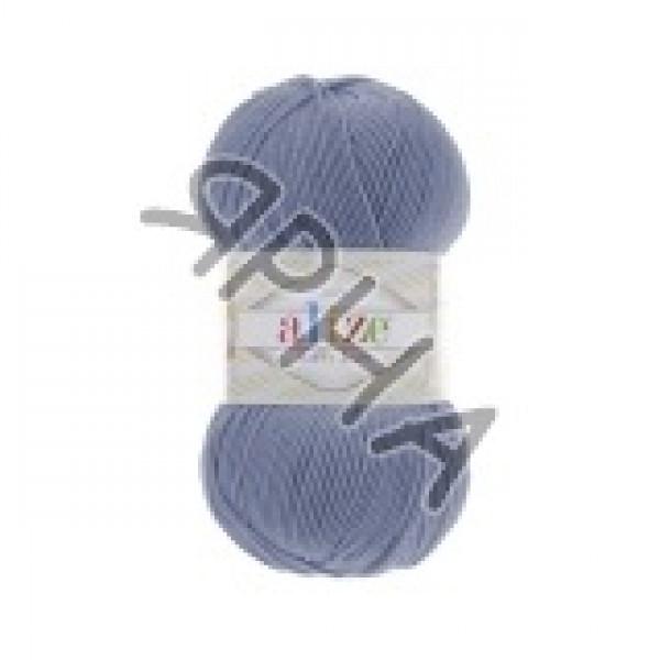 Пряжа в мотках Хеппи беби Alize (Ализе) #    374 [голубой]