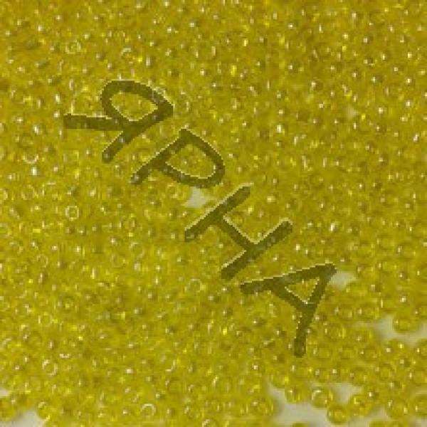 Бисер 504 желтый блеск Корея