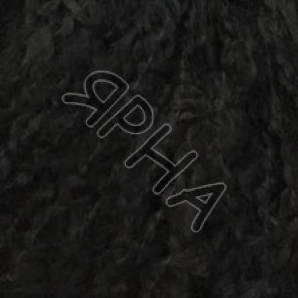 Беби Альпака букле #     10 [черный]