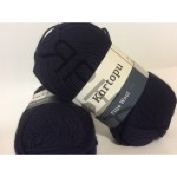 Yarn Elite wool grand Картопу #    630 [т.синий]