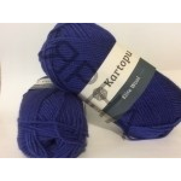 Yarn Elite wool grand Картопу #   1624 [джинс]