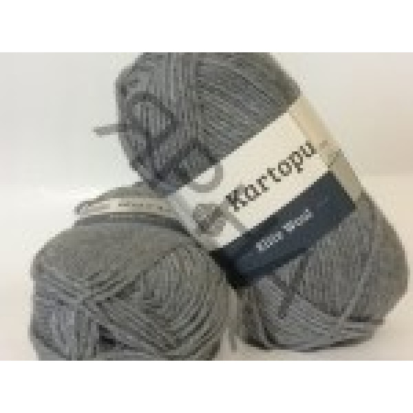 Yarn Elite wool grand Картопу #   1001 [св.серый креатив]