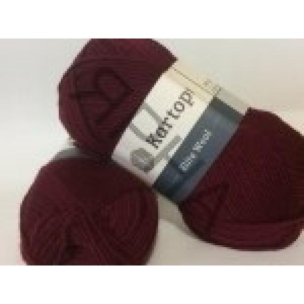 Yarn Elite wool grand Картопу #    110 [бордо]