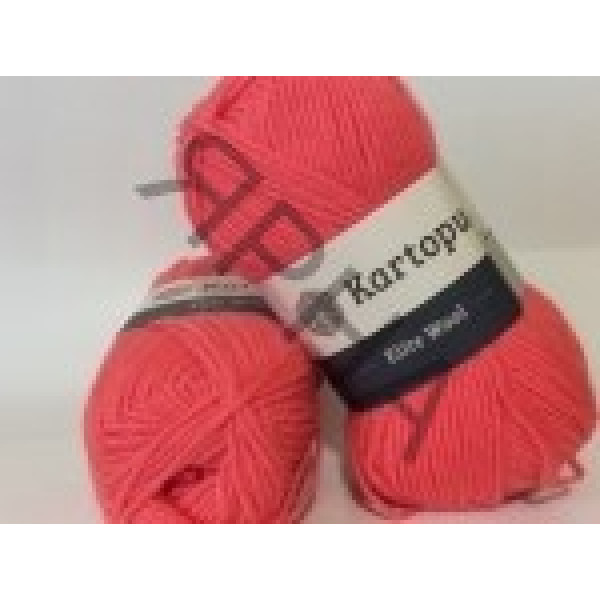 Yarn Elite wool grand Картопу #   1212 [коралл]