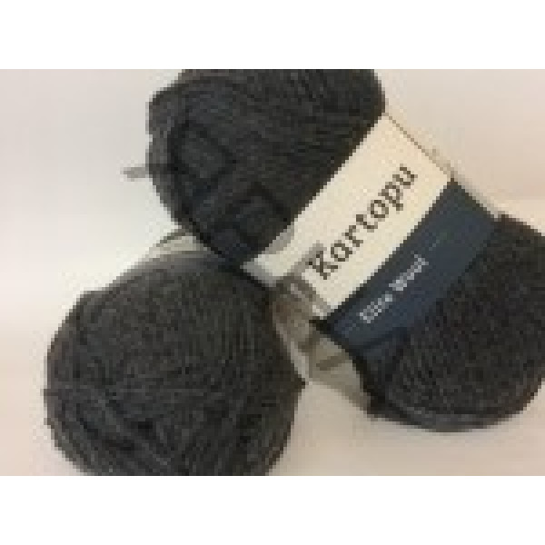Yarn Elite wool grand Картопу #   1003 [асфальт]
