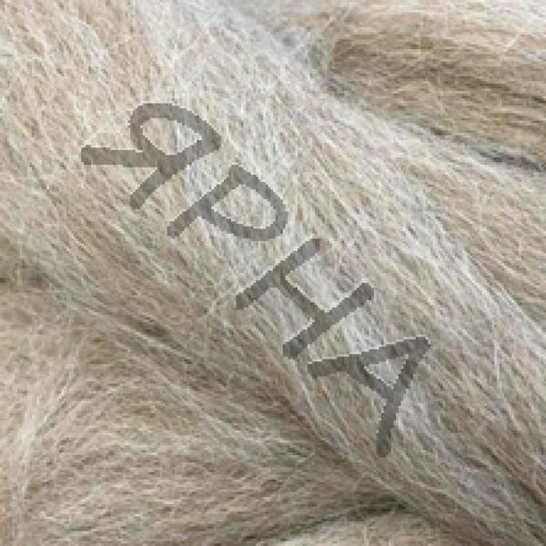 Yarn Wool for felting Ярна #   0062 [т.беж]