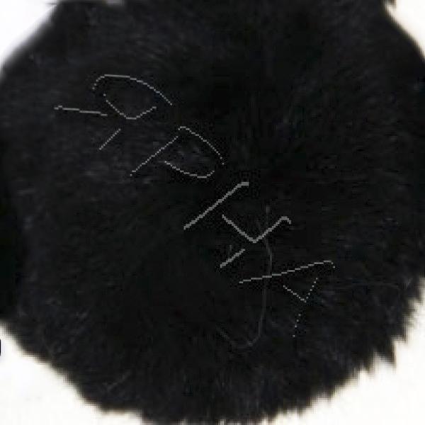 Розочка кролик #        [черная]