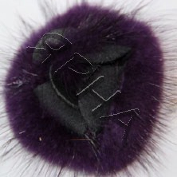 Розочка норка #        [фиолет]