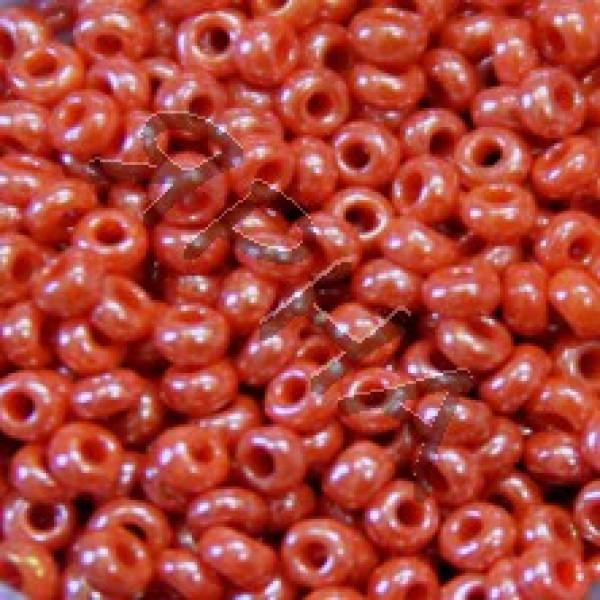 Beads Бисер Корея #    130 [оранж жемчуг]
