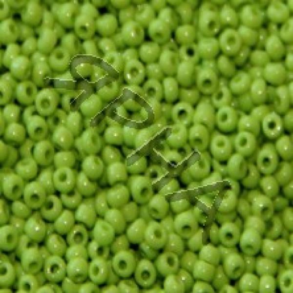 Beads Бисер Корея #    044 [салат непрозрачный]