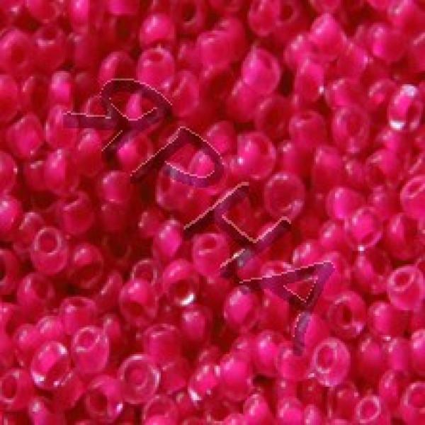Beads Бисер Корея #    207 [фуксия стекло]