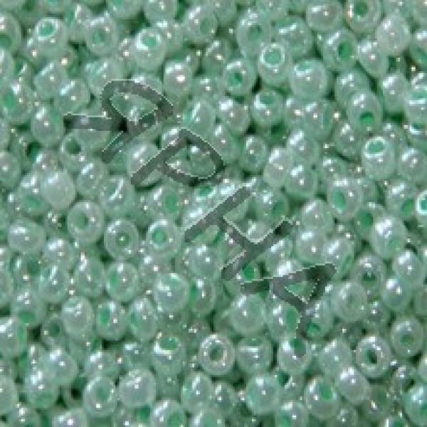 Beads Бисер Корея #    335 [салат перл]