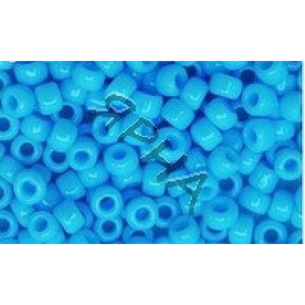 Beads Бисер Корея #   043B [голуб.непрозрач]