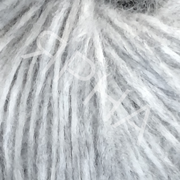 Альпака реале конус 801 серый меланж PECCI FILATI