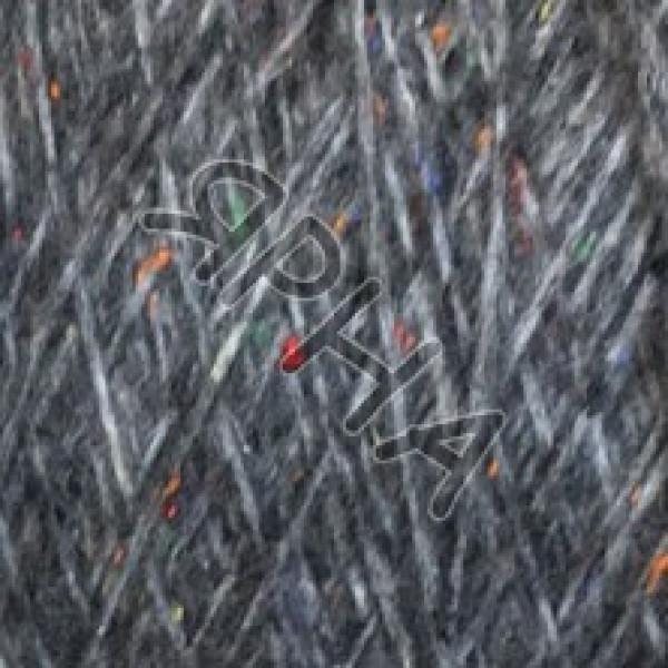 Yarn on cones Babylon tweed cone INDUSTRIA FILATI #   2364 [асфальт]