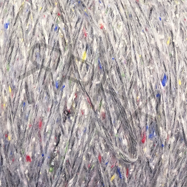 Yarn on cones Babylon tweed cone INDUSTRIA FILATI #   2380 [св.серый]