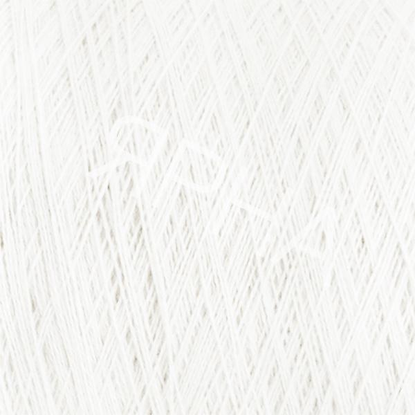 Yarn on cones Кашемир   8% Батик 1/15 LINSIEME #     01 [натуральный белый]