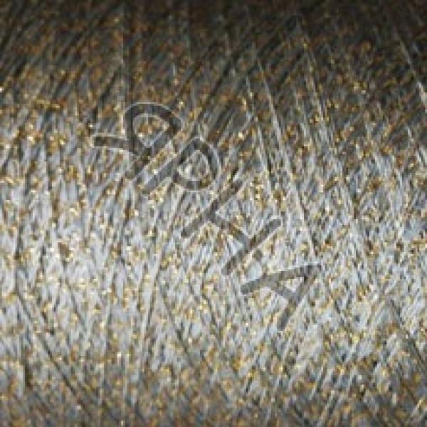 Пряжа на конусах Вискоза c люрексом конус FILITALY #    833 []