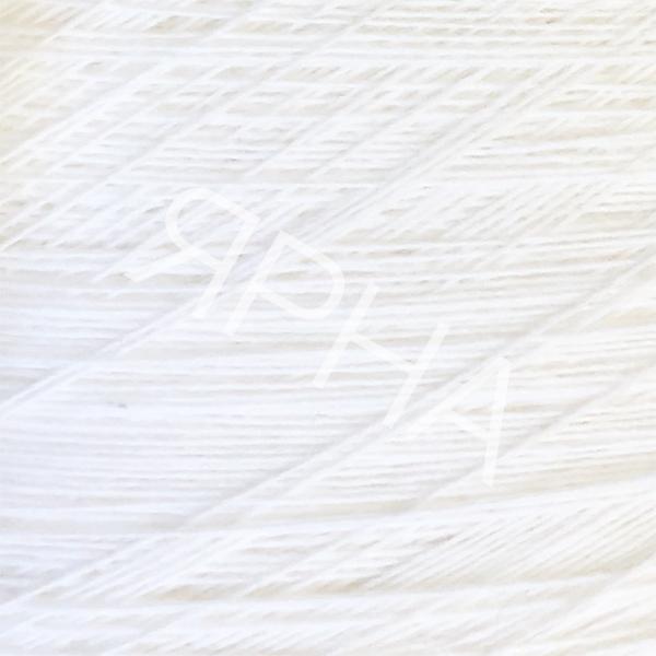 Yarn on cones Cashmere 10% cone 2/28 casa del filato #   2024 [снег]