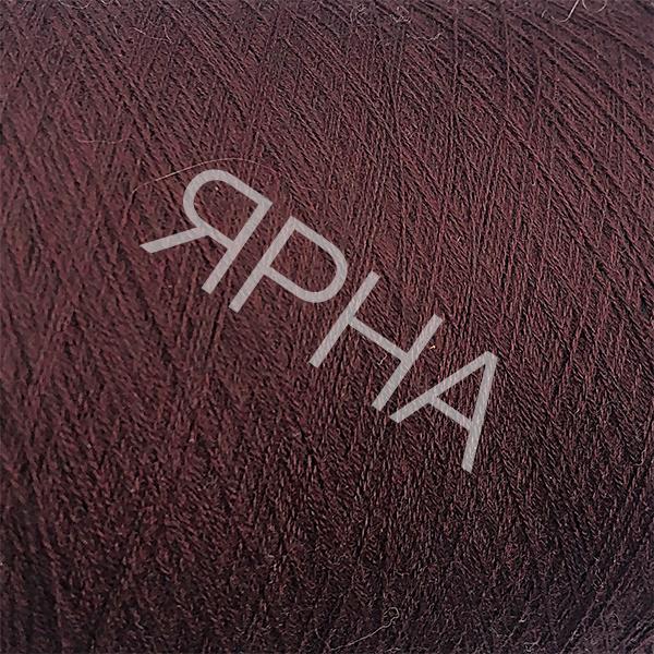 Yarn on cones Cashmere 10% cone 2/28 casa del filato #   1296 [марсала]