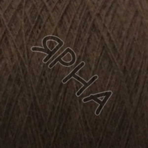 Yarn on cones Cashmere 8% Matis Linsieme #   9999 [шоколад молочный]