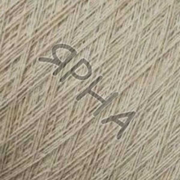 Пряжа на конусах Кашемир конус 2/14 Lora Festa #    879 [теплый крем]