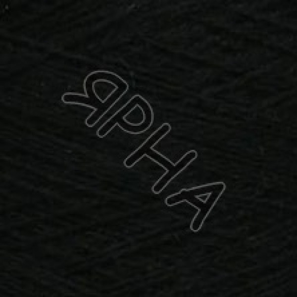 Пряжа на конусах Кашемир конус 2/14 Lora Festa #    872 [черный]
