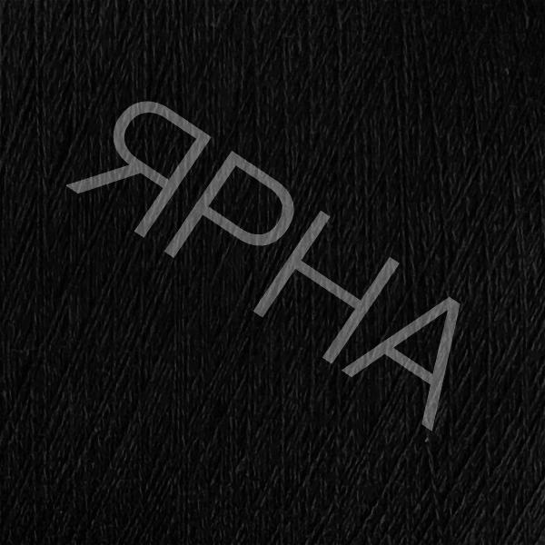 Кашемир конус 2/27 8010 черный Лоро Пиана