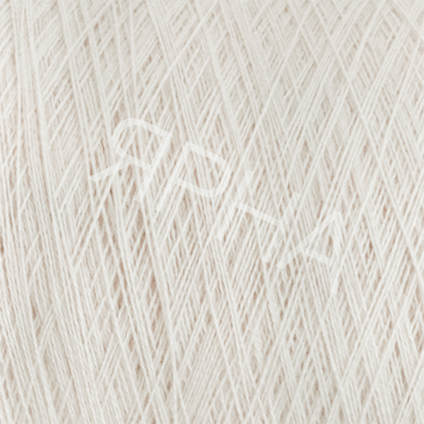 Кашемир конус 2/27 8071 белый натуральный Лоро Пиана