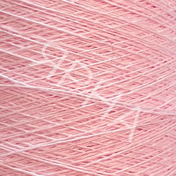 Пряжа на конусах Лен 100% конус 2/26 Botto Giuseppe #    201 [розовый нежный]
