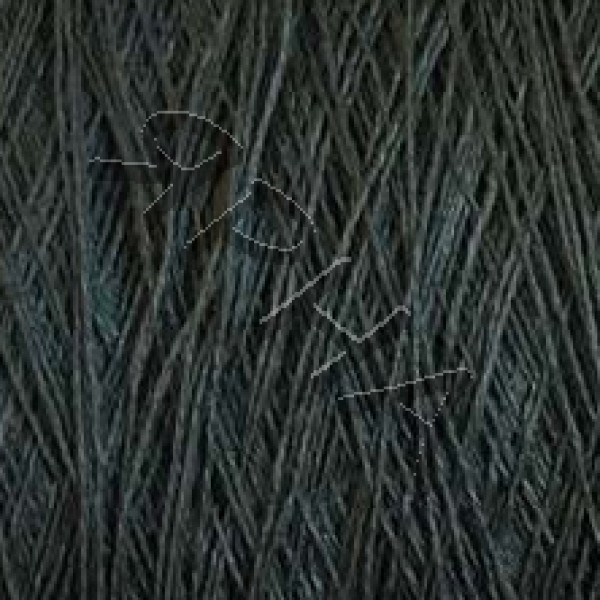 Пряжа на конусах Лен 100% конус 2/26 Botto Giuseppe #    204 [зелен-серый холодн]