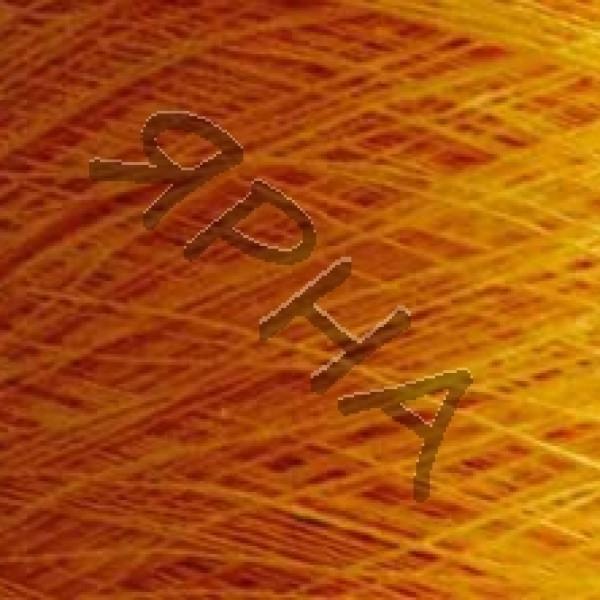 Пряжа на конусах Лен 100% конус 2/26 Botto Giuseppe #    207 [желток]