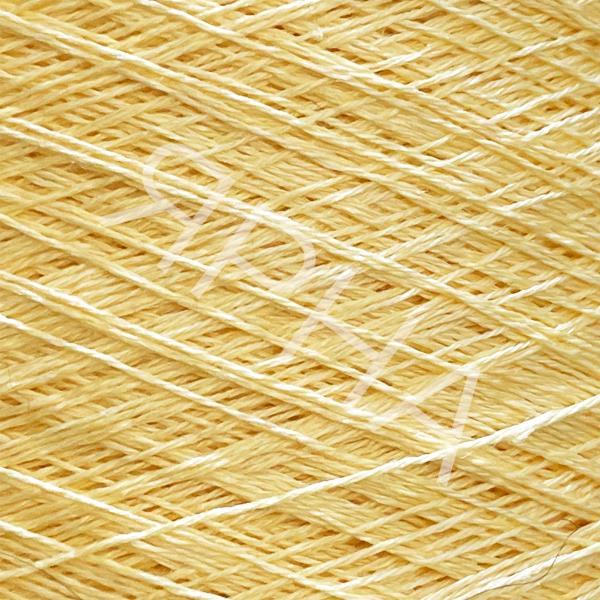 Пряжа на конусах Лен 100% конус 2/26 Botto Giuseppe #   2967 [кукуруза светлая]